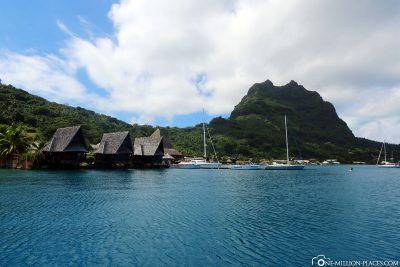Die Marina in Vaitape