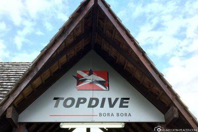 Das Tauchcenter in Bora Bora