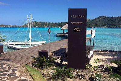 The Hotel Sofitel Bora Bora Private Island