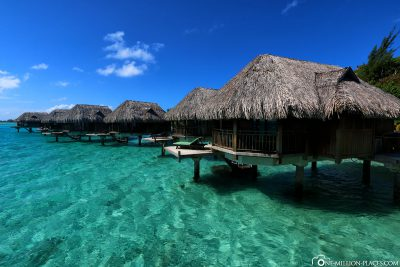 The water bungalows