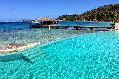 The pool of Sofitel Marara Beach