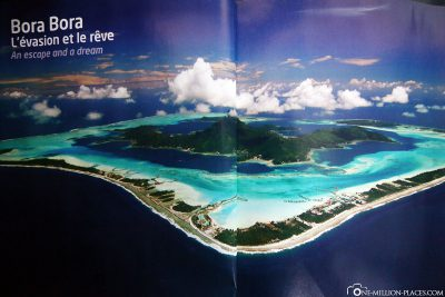 Bora Bora in flight magazine