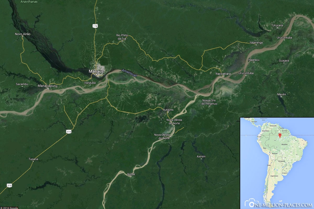 Location, Manaus, Amazon, Brazil, South America, Travelreport