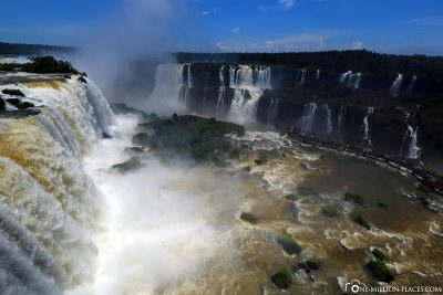 The waterfalls