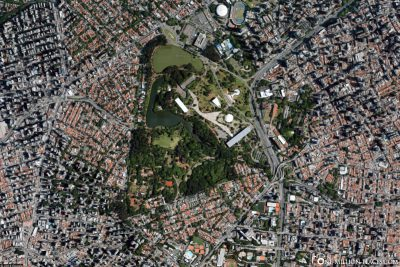 Karte des Parque do Ibirapuera