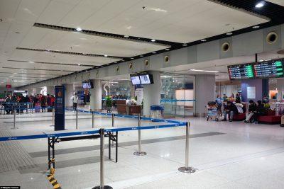 The airport in Beijing