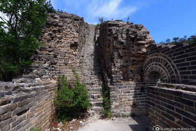 Überreste eines Wachturms