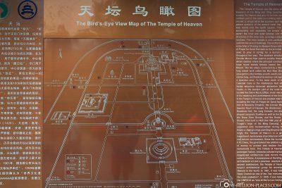 Eine Karte vom Park