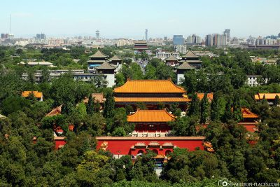 The view from Jingshan Park to the north