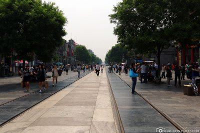 Die Qianmen Straße