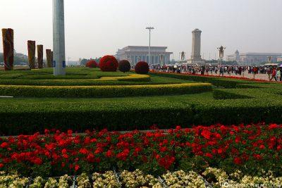 Der Tiananmen Platz
