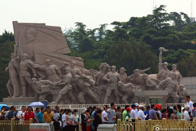 Das Denkmal für die Helden des Volkes