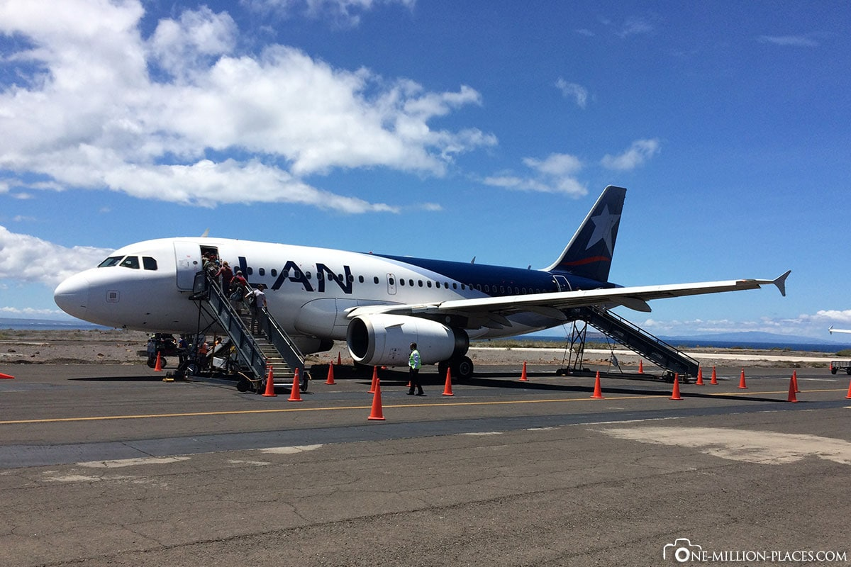 Flight, Galapagos, Quito, LAN Airlines, Travel report