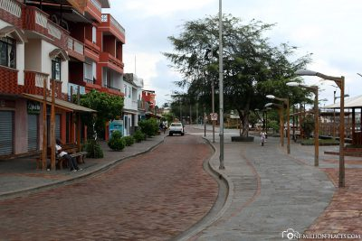The promenade of Puerto Baquerizo Moreno