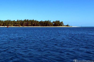 Bootsfahrt zur Blue Lagoon