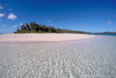 Die Insel und der Strand