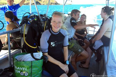 On to the next dive spot