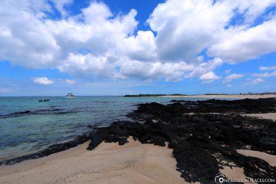 Die Nordküste der Insel Santa Cruz