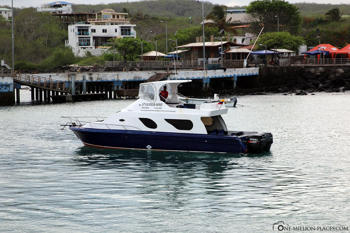 Fähre nach Santa Cruz, Insel Santa Cruz, Galapagos, Ecuador, Südamerika, Rundreise, Reisebericht