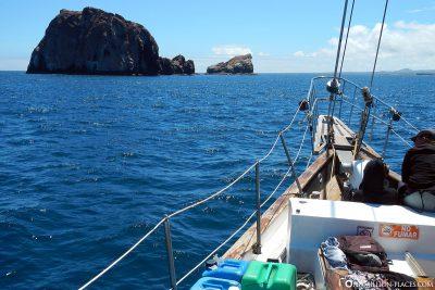 The journey to the Gordon Rocks