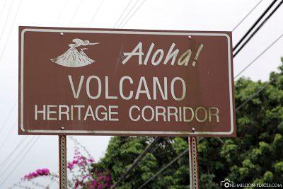 Volcano Heritage Corridor