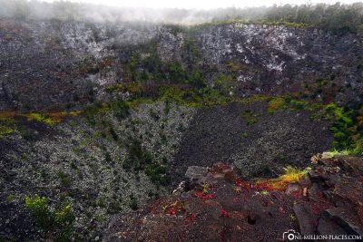 Der Hiiaka Krater