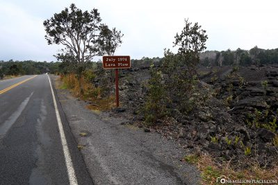 The lava field of 1974