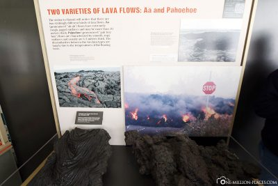 The different types of lava