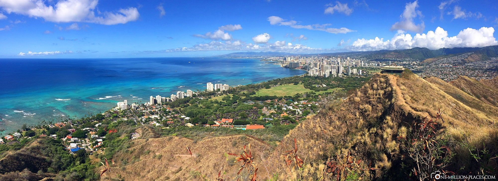 Panoramabild, Oahu, Inselrundfahrt, Auf eigene Faust, Sehenswürdigkeiten, Hawaii, USA, Reisebericht