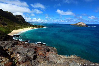 Der Blick vom Makapuu Lookout