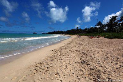 Strand an der Ostküste