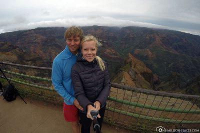 Selfie am Overlook Point