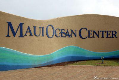 The entrance to the Ocean Center