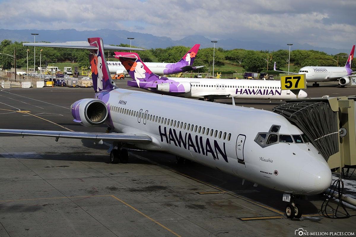 Hawaiian Airlines, Maui, Reisebericht