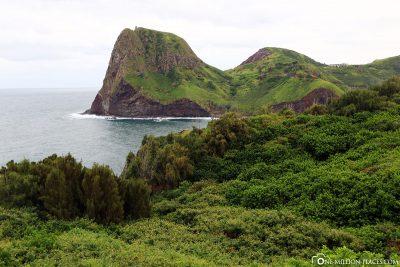 Entlang der Küstenstraße 340 in Maui