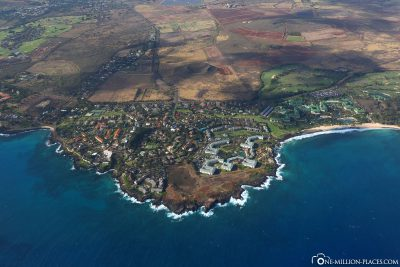 The south coast of Kauai