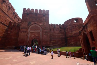 Das Rote Ford in Agra