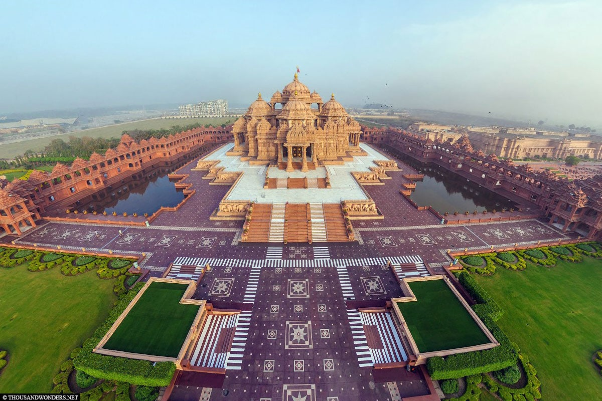 Akshardham Tempel, Delhi, Indien, Fotospot, Reisebericht
