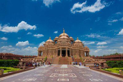 The Hindu temple of Akshardham in Delhi