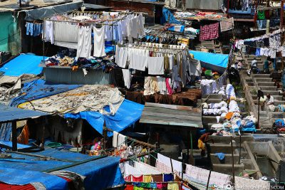 Der Waschplatz Dhobi Ghat