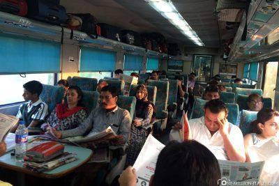Der Zug 12002 Bhopal Shatabdi
