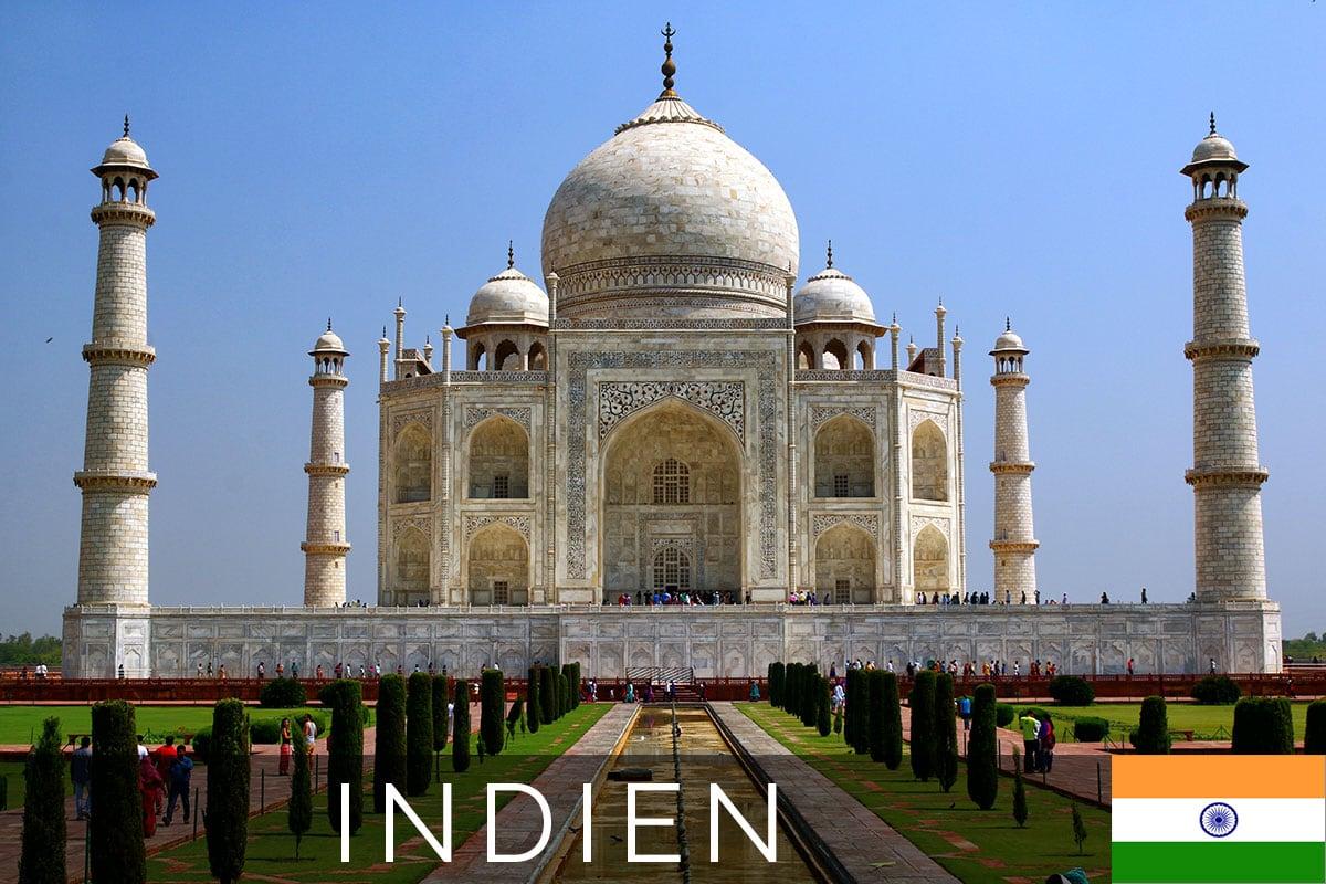 Titelbild Taj Mahal