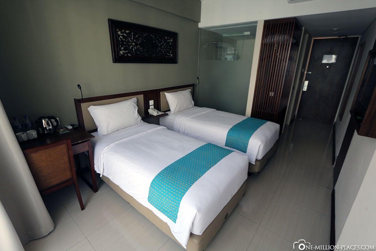 Zimmer, Hotel Terrace at Kuta, Insel Bali, Indonesien, Reisebericht