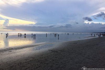 Der Strand in Kuta