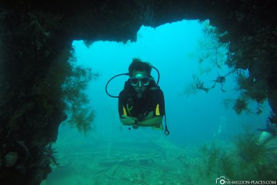 Diving in Bali at USAT Liberty wreck
