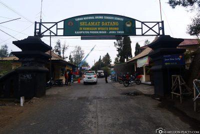 Ankunft in Cemoro Lawang