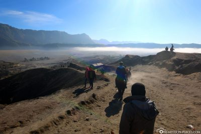 The way back to the valley