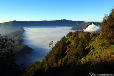 Der Aussichtspunkt an den King Kong Hills