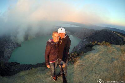 Am Kratersee Kawah Ijen