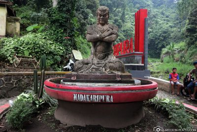 The entrance to Madakaripura Waterfall